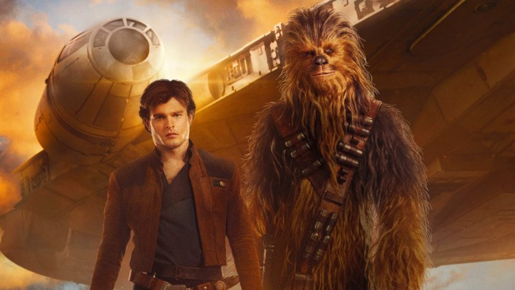 Image result for solo a star wars story solo and chewy